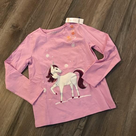 efb8d75431d7 Gymboree Shirts & Tops | New Unicorn Shirt M 78 | Poshmark